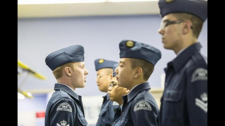 Campbell River Air Cadets named top Small Drill Team on Vancouver