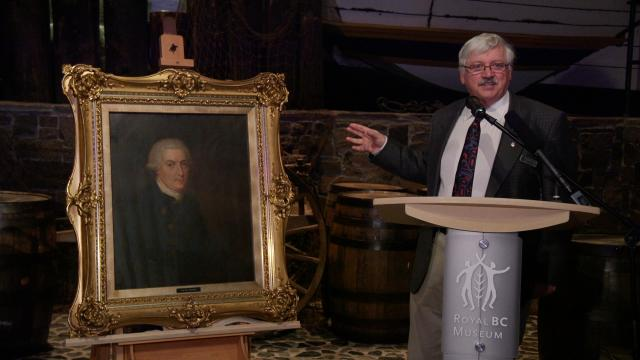Likely portrait of Captain Vancouver helps open dialogue